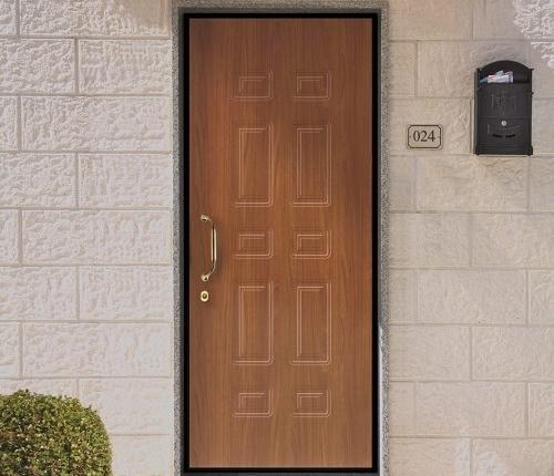 Porta Blindata Rivestimenti Renolit mod classico