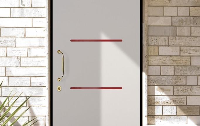 Porta Blindata Rivestimento Renolit mod. moderno