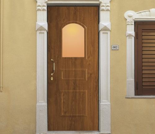 Porta Blindata Rivestimento Renolit modello classico